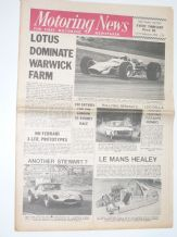 MOTORING NEWS 1968 Feb 22 Clark Wins Tasman Warwick Farm, Bristowe Rally, Lancia